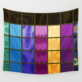 Changeling Rainbow Wall Tapestry
