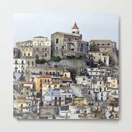Urban Landscape - Cathedral - Sicily - Italy Metal Print