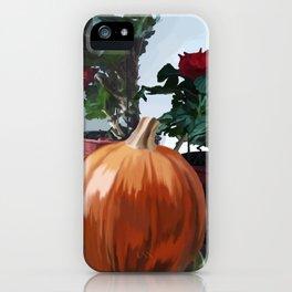 Autumnal Still Life iPhone Case