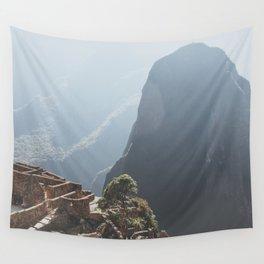 Sunrise over Machu Picchu Wall Tapestry