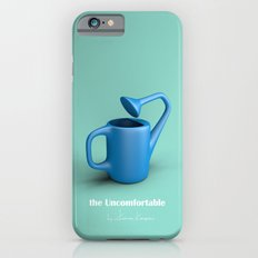 The Uncomfortable Watering can in mint coloured background iPhone 6 Slim Case