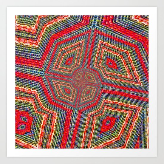 Weaver's Interchange Art Print