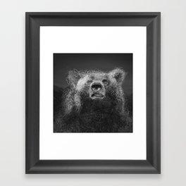 Sacred Bear Framed Art Print