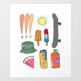smmr tings Art Print