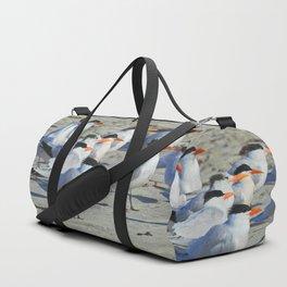 Elegant Terns Duffle Bag