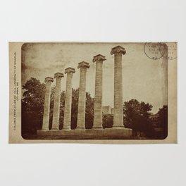 Old Postcard--Mizzou Rug