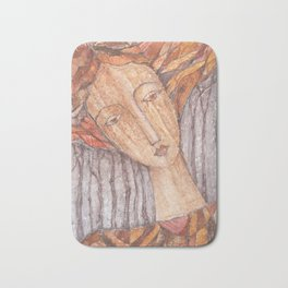 Entre arboles N`5 (Among trees N`5) Bath Mat