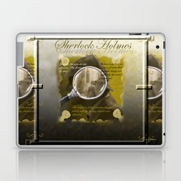Searching for Holmes Laptop & iPad Skin