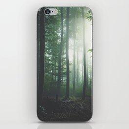 Dreary Black iPhone Skin