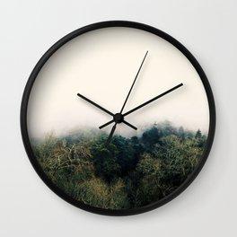 Just Breath Wall Clock