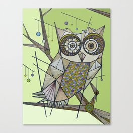 Sleeping's For The Birds! Canvas Print