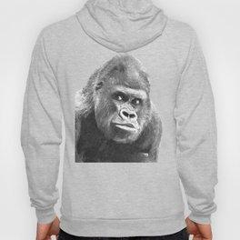 Black and White Gorilla Hoody