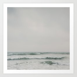 ocean breeze ... Art Print