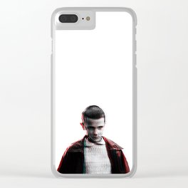 El mode on Clear iPhone Case