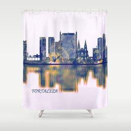 Fortaleza Skyline Shower Curtain