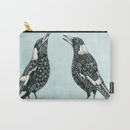 Magpie Song Carry-All Pouch