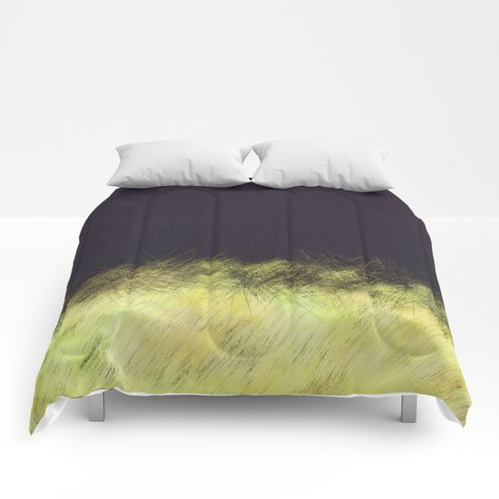 Canary in a Coalmine Comforters