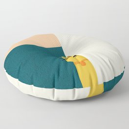 Little_Cat_Cute_Minimalism Floor Pillow