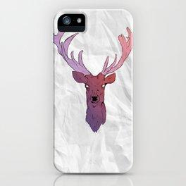 Deer (One) iPhone Case