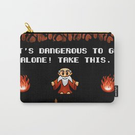 It's Dangerous to go alone! Carry-All Pouch