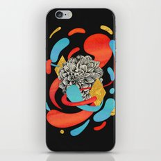The Flower Fades iPhone Skin