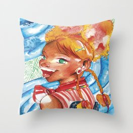 Puffy Rikku, Final Fantasy Throw Pillow