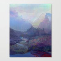 tchmo Canvas Prints featuring Untitled 20150803a by tchmo