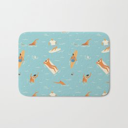 Blue Hawaii Bath Mat