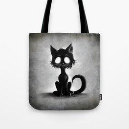 Creepy Cat Tote Bag