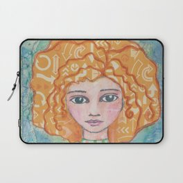 My Mind Goes All Over the Place Laptop Sleeve