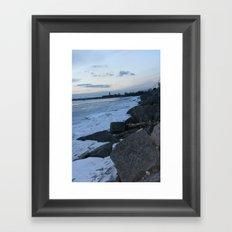 Rocky Shore Framed Art Print