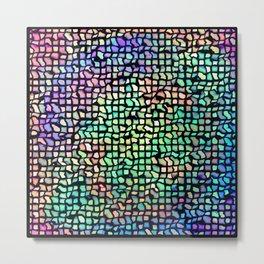Mozaic Metal Print