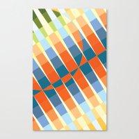 art deco Canvas Prints featuring Art Deco by Robert Cooper