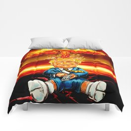 Trump bomb Comforters