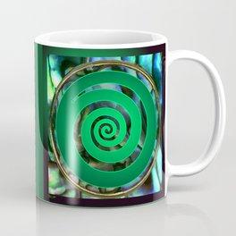Paua Koru 1 Coffee Mug