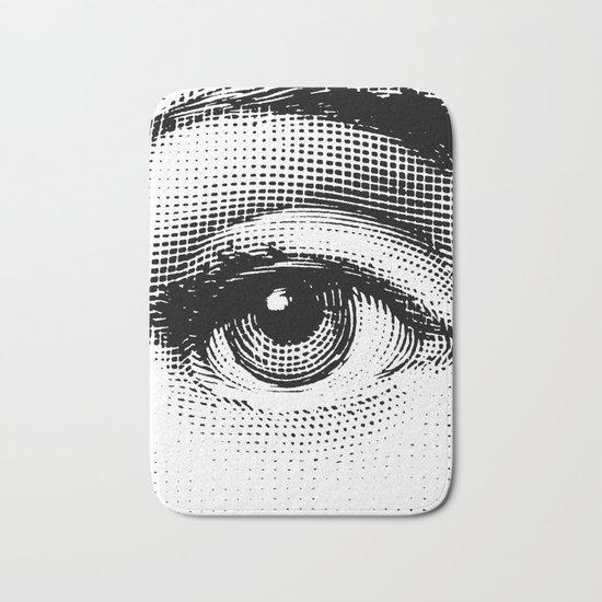 Lina Cavalieri Eye 01 Bath Mat