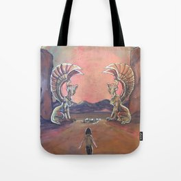 Never Ending Story: The Sphinx Gate Tote Bag
