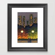 Rittenhouse Square Framed Art Print