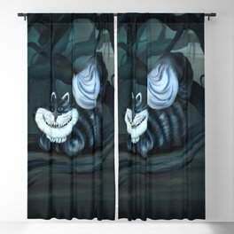 Cheshire Cat  Blackout Curtain