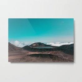 Tongariro Crossing Wall Art, Photography Print, Wall Decor, Accessoires Metal Print