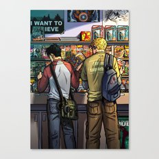 William and Theodore 05 Canvas Print