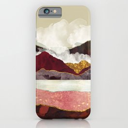 Melon Mountains iPhone Case
