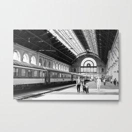 Budapest Keleti Train Station Metal Print