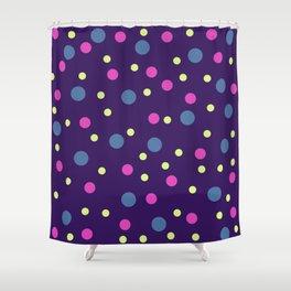 Classic Retro Dots 08 Shower Curtain