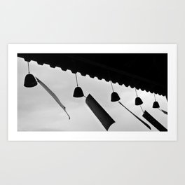 japanese wind bells Art Print