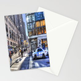New York City Street Scene Stationery Cards