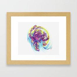 mommas flower Framed Art Print