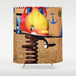 Fish Jumper Shower Curtain