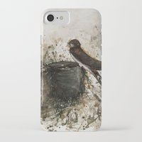 sparrow iPhone & iPod Cases featuring Sparrow by Andrei Clompos