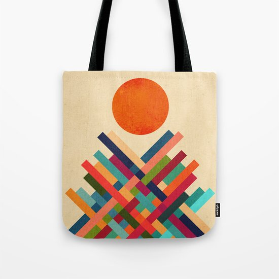 Sun Shrine Tote Bag